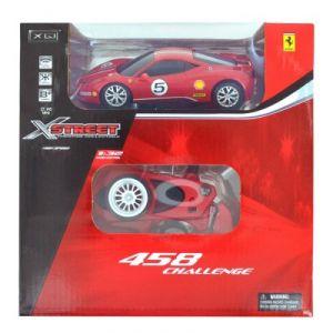 LGRI Voiture radiocommandée X Street Ferrari 1/32 : 458 Challenge