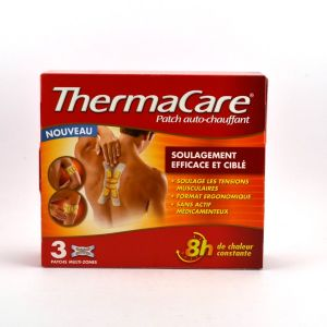Pfizer Thermacare Patch auto-chauffant multi zones