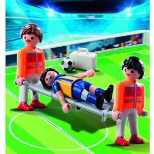 Playmobil 4727 - Secouristes et joueur blessé