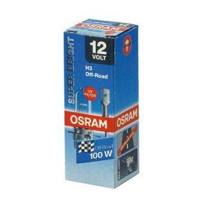 Osram 62201 - Ampoule auto (non homologuée sur route) type H3 Blanche 12 Volts 100 watts