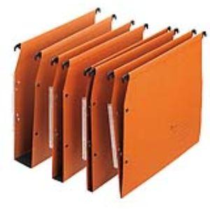Majuscule Paquet de 25 dossiers suspendus M-Business pour armoire (dos : V)