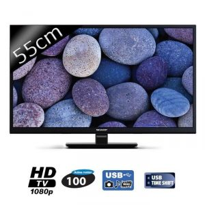 Sharp LC-22CFE4000E - Téléviseur LED 55 cm Full HD
