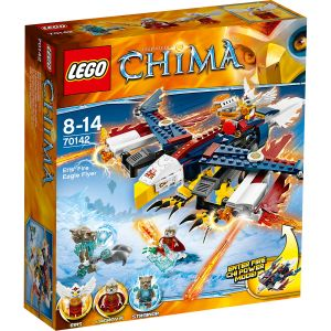 Lego 70142 - Legends of Chima : Le planeur Aigle de feu d'Eris