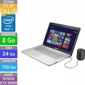 """Asus N750JK-T4197H - 17.3"""" avec Core i7-4700QM"""