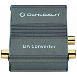 Oehlbach DA Converter - Convertisseur DAC