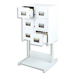 Acco Fichier à tiroirs pour fiches (105x148 mm)
