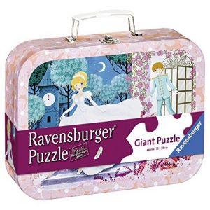 Ravensburger Cendrillon - Puzzle valise en métal 60 pièces