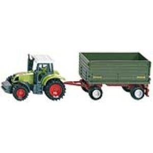 Siku 1634 - Tracteur avec remorque 2 essieux - Echelle 1:64