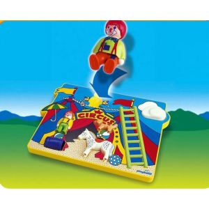 Playmobil 6747 - 1.2.3 : Puzzle cirque