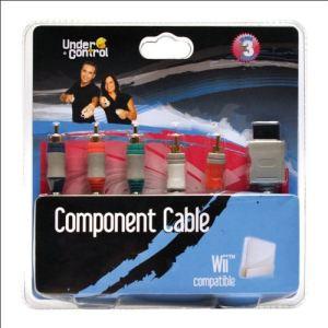Under Control Câble component pour Wii