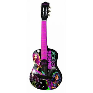Lexibook K2000BB - Guitare acoustique Barbie Rock N Royals (78 cm)