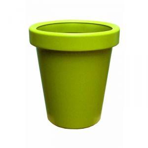 Lisséa 50 - Pot de fleurs rond en plastique soufflé Ø50 cm