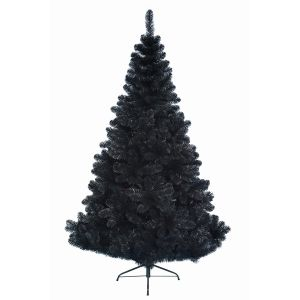 Everlands Imperial - Sapin de Noël artificiel noir (1m80)