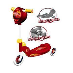 Mondo Patinette pliable 3 roues Cars