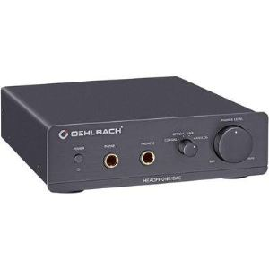 Oehlbach XXL DAC Ultra - Amplificateur avec convertisseur digital/analogue intégré pour écoute au casque