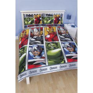 housse de couette avengers comparer 56 offres. Black Bedroom Furniture Sets. Home Design Ideas