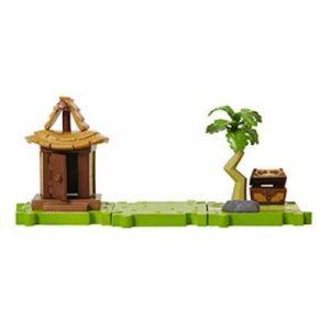 Abysse Corp Village île de l'Aurore - Micro playset Nintendo Zelda