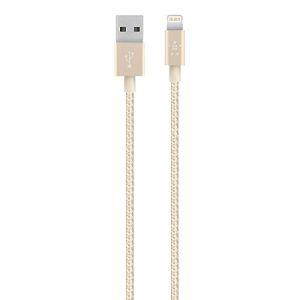 Belkin F8J144bt04 - Câble Lightning vers USB MIXIT 1.2m