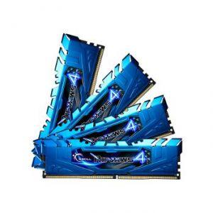 G.Skill F4-2133C15Q2-64GRR - Barrettes mémoire RipJaws 4 Series 64 Go (8x 8 Go) DDR4 2133 MHz CL15 DIMM