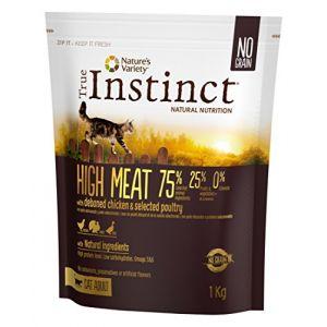 True instinct Chat Adulte - High Meat 1 Kg