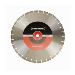 Silverline 675215 - Lame diamantée soudée au laser 450 x 25.4 mm