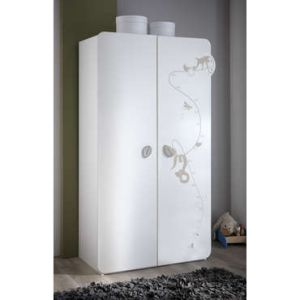Armoire Jungle 2 portes 106 x 185 x 57 cm