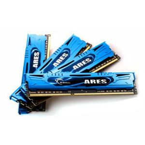 G.Skill F3-2133C10Q-16GAB - Barrettes mémoire Ares 4 x 4 Go DDR3 2133 MHz CL10 Dimm 240 broches