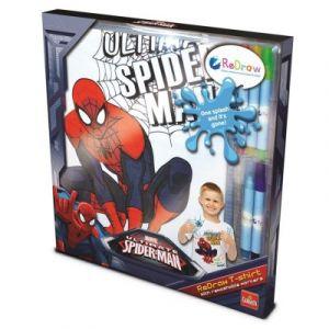 Goliath Tee-Shirt à colorier Spiderman