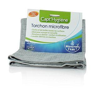 Etamine du lys Torchon Capt'hygiène en microfibre