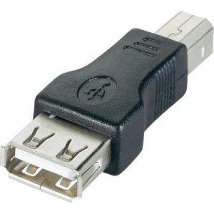 Goobay Adaptateur USB 2.0 B mâle vers USB 2.0 A femelle