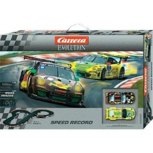 Carrera Toys Evolution 25202 - Circuit de voitures Speed Record