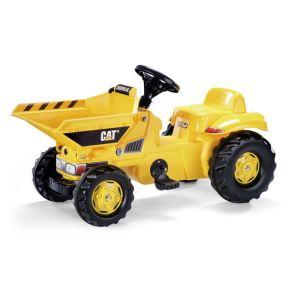 Rolly Toys Dumper à pédales Caterpillar