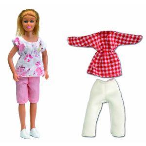 Lundby Kit Mère + vêtements Smaland pour maison de poupée