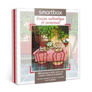smartbox evasion authentique et savoureuse coffret cadeau pour 2 personnes comparer avec. Black Bedroom Furniture Sets. Home Design Ideas