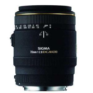 Sigma 270954 - Objectif Macro 70mm F2,8 EX DG Canon