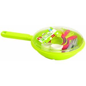 Ecoiffier 0973 - Poêle garnie Bubble cook