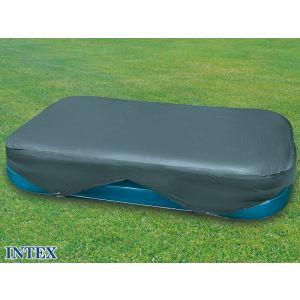 Intex 58412 - Bâche de protection Ø 3,05 x 1,83 m pour piscine gonflable rectangulaire