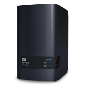 Western Digital WDBVBZ0040JCH - My Cloud EX2 Ultra Serveur NAS Externe 2 Baies 4 To USB 3.0/Gigabit Ethernet