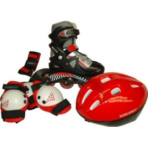 Score Direct 887 - Rollers in line enfant avec protections