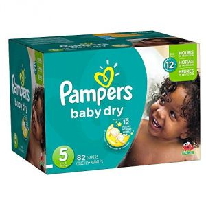Pampers Baby Dry taille 5 (11-25kg) - 82 couches