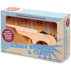 Tobar Pistolet en bois à élastiques