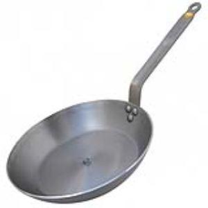 De Buyer 5610.24 - Poêle ronde Mineral B Element 24 cm