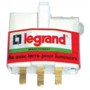 Legrand Fiche DCL pour luminaire 2 phases + terre