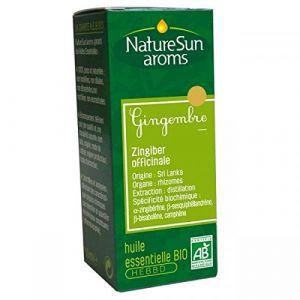 NatureSun Aroms Huile essentielle Gingembre Bio 10 ml