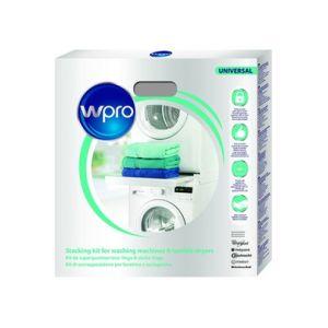Wpro SKS101 - Kit de superposition universel pour lave linge / sèche linge