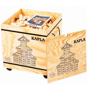 Kapla Malette 1000 planchettes en bois naturel