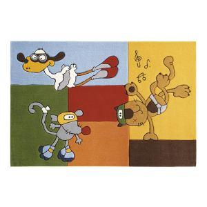 Sigikid Tapis de tapis enfant Bandidoleros Fun (70 x 140 cm)