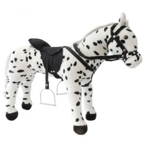 Heunec Porteur peluche cheval Oncle Alfred