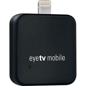 Elgato EyeTV mobile (Lightning) - Tuner TNT sans fil pour iPad (4e génération), iPad mini, iPad Air, iPhone 5 ou iPod touch (5e génération) avec connecteur Lightning