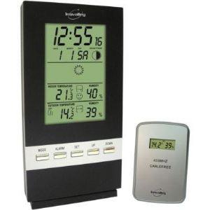Inovalley sm300 station m t o et hygrom tre pour for Station meteo temperature interieure et exterieure